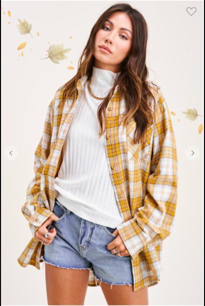 Dreamy Plaid Shirt MUST
