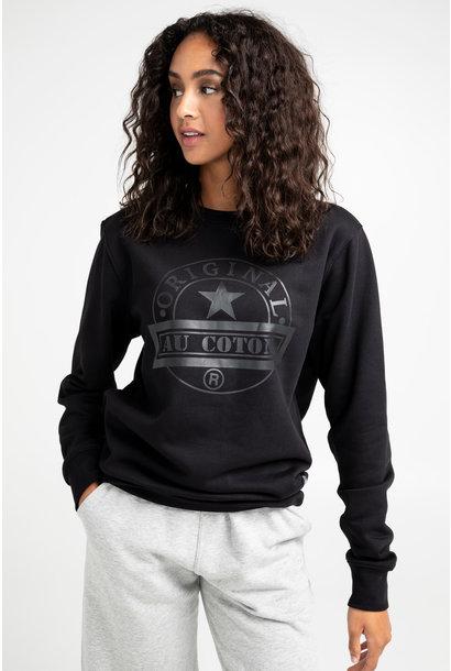 Unisex Original Round Neck Sweater BLK