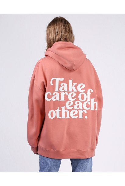 Take Care Of Each Other Big Sis  Hoodie ROSE