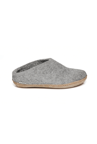 Slip-On Leather GRY