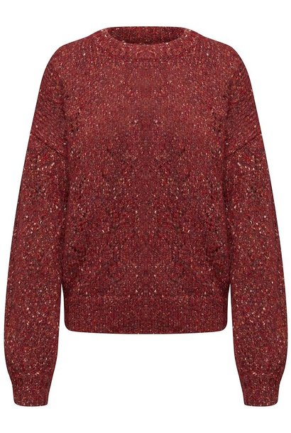 Anabelle Pullover RED
