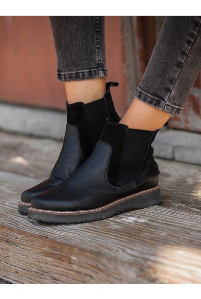 Marren Leather Boot BLK