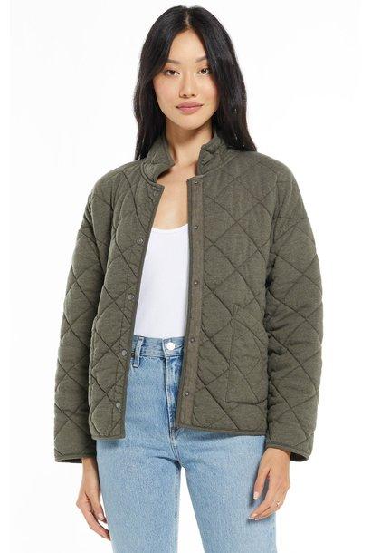 Maya Quilted Jacket SEAWEED