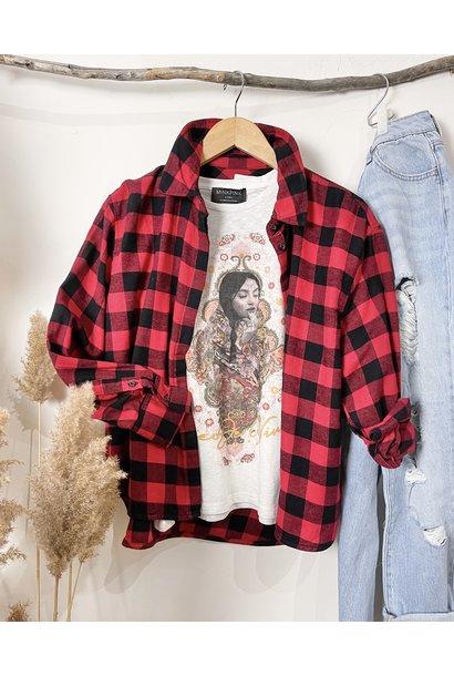Kamma Oversize Check Shirt