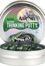 "Crazy Aarons Thinking Putty Crazy Aaron's Thinking Putty - Super Fly 4"" Tin"
