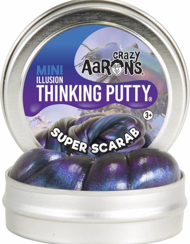 Crazy Aarons Thinking Putty Crazy Aaron's Thinking Putty - Super Scarab