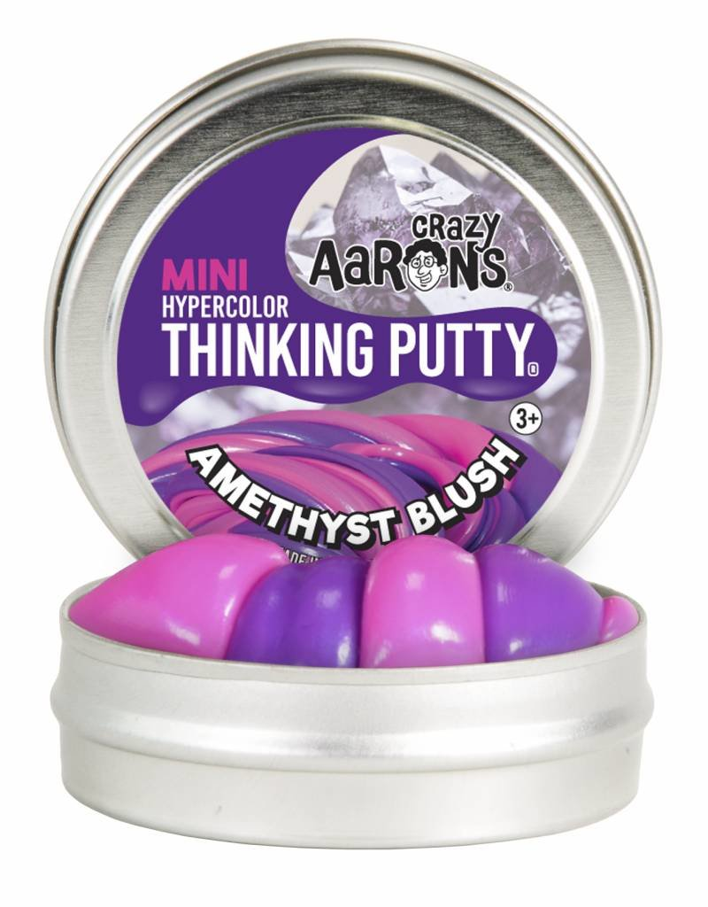 Crazy Aarons Thinking Putty Crazy Aaron's Thinking Putty - Amethyst Blush