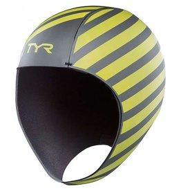 TYR Hi-Vis Neoprene Swim Cap  Large