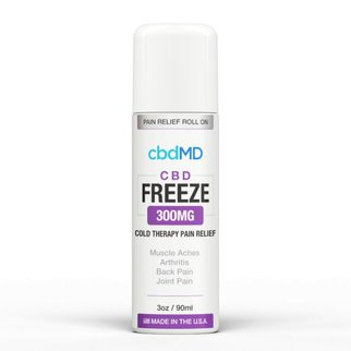 cbdMD CBD FREEZE ROLLER | 300mg | 3oz