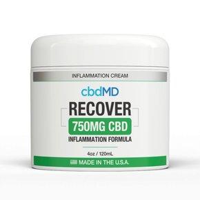 cbdMD Inflammation Formula CBD 750mg 4oz Tub