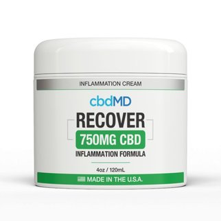 cbdMD INFLAMMATION FORMULA | RECOVER | 750mg | TUB | 4oz