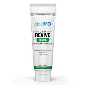 cbdMD MOISTURIZING LOTION | REVIVE | 750mg | SQUEEZE | 4oz