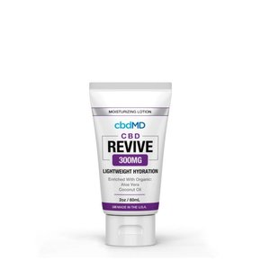 Moisturizing CBD Lotion Revive 300mg Squeeze 2oz