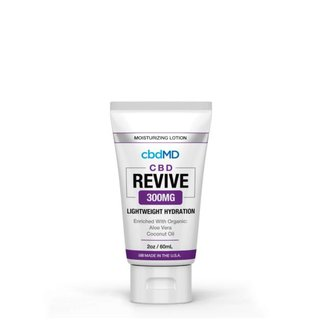 cbdMD MOISTURIZING LOTION | REVIVE | 300mg | SQUEEZE | 2oz