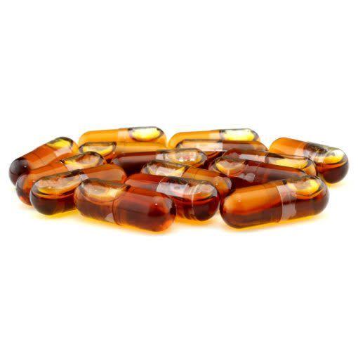 Hemp & Heal Cbd Oil Full Spectrum Vegan Capsules 30 Count