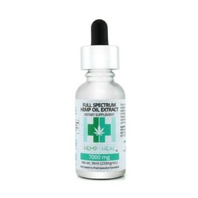 Hemp & Heal Tincture Drops Full Spectrum 7000mg