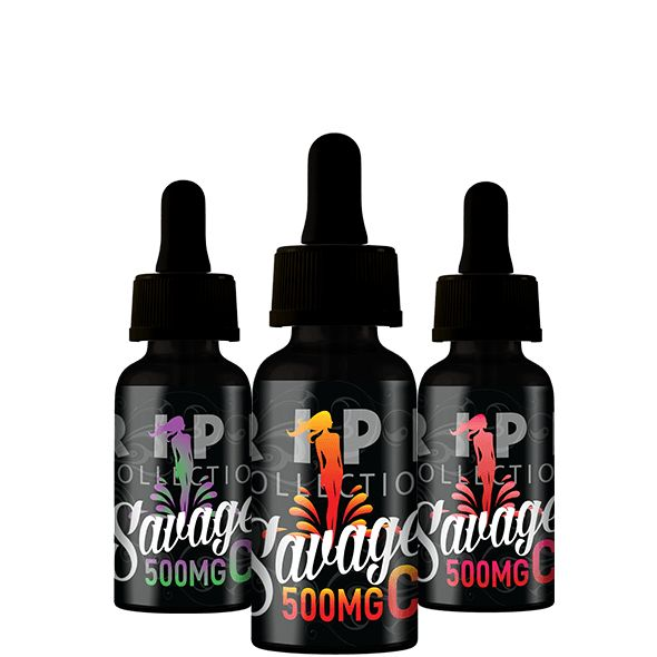 Savage Ripe CBD Oil 500mg 30ml Bottle - Kiwi Dragon Berry