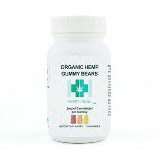 Hemp & Heal Hemp & Heal Organic Hemp Gummy Bears 30 Count