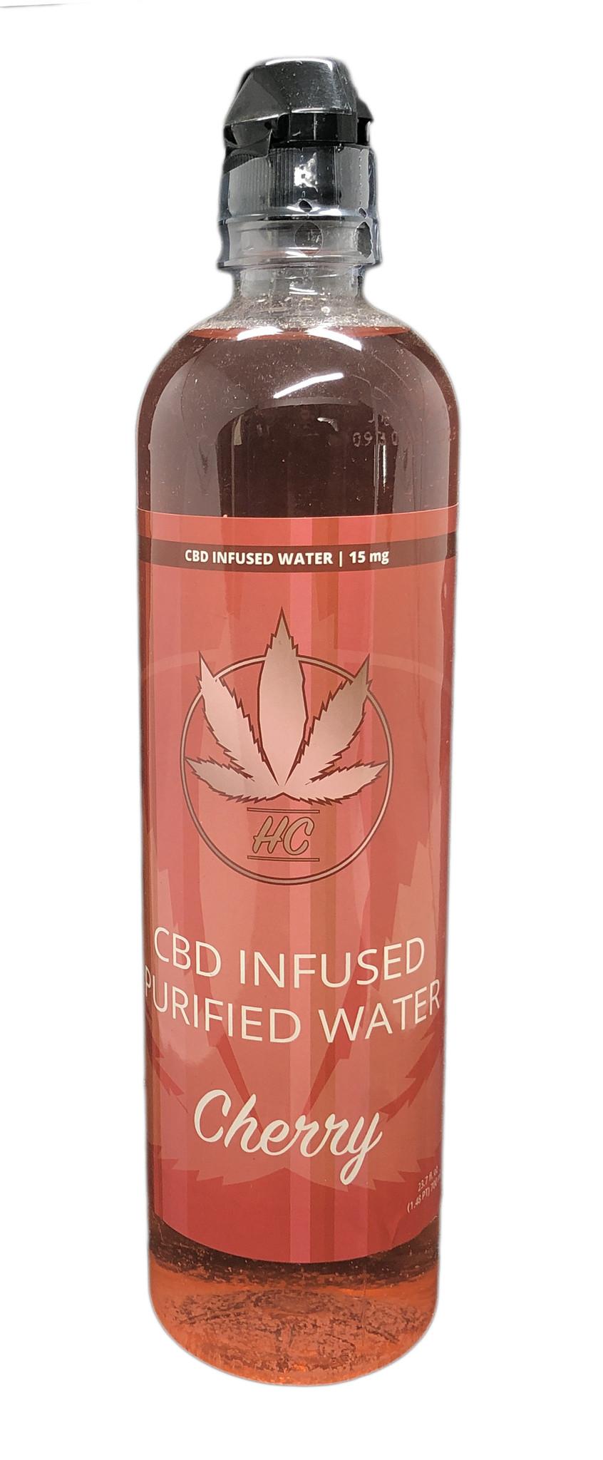 Heavenly Candy CBD PURIFIED WATER | CHERRY | 15mg | 23.7 Fl Oz