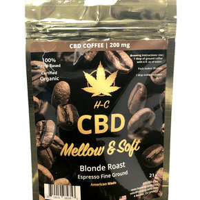 Heavenly Candy CBD COFFEE | MELLOW & SOFT | BLONDE ROAST | 200mg