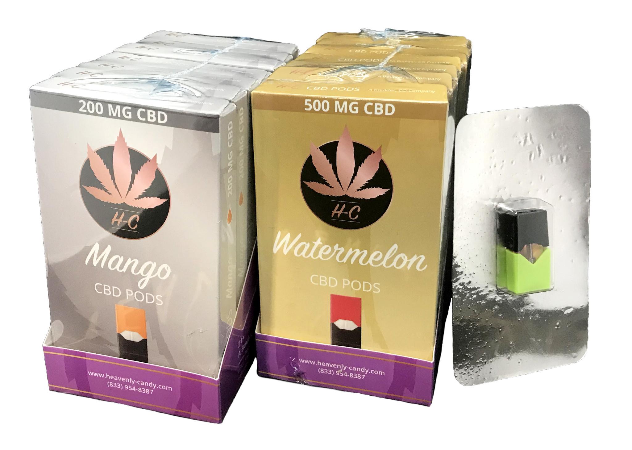 Heavenly Candy CBD JUUL POD | MANGO | 500mg | 0.7 ml