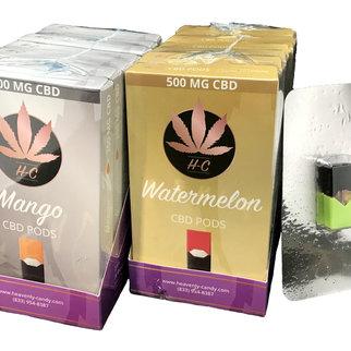 Heavenly Candy CBD JUUL POD | MINT | 500mg | 0.7 ml