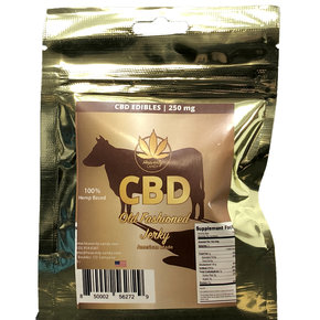 Heavenly Candy CBD BEEF JERKY | OLD FASHIONED | 250mg | 1 Oz.