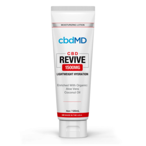 cbdMD MOISTURIZING LOTION REVIVE | 1500mg | SQUEEZE | 4oz