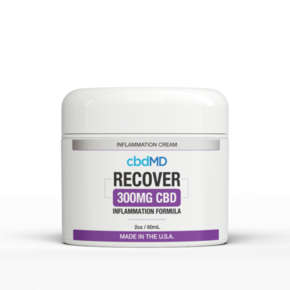cbdMD INFLAMMATION FORMULA | 300mg | RECOVER | 2oz. TUB