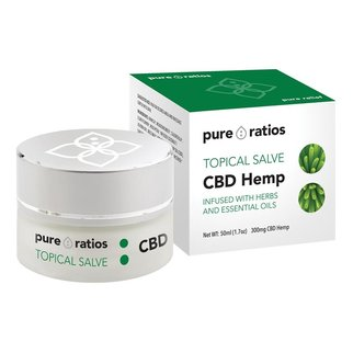 Pure Ratios CBD TOPICAL SALVE | 300mg | 50ml TUB