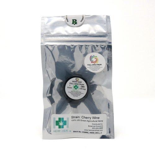 Hemp & Heal H & H CBD KIEF   1 Gram
