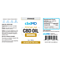 cbdMD CBD OIL TINCTURE DROPS | 3000mg | ORANGE