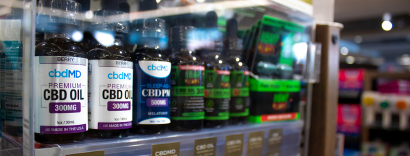 CBDMD CBD Oil Tincture Drops