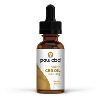 cbdMD CBD DOG TINCTURE | 3000MG | PEANUT BUTTER | 30ml BOTTLE