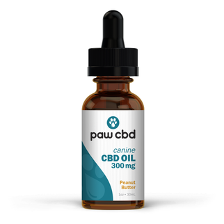 cbdMD CBD DOG TINCTURE | 300MG | PEANUT BUTTER | 30ml BOTTLE