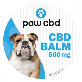 cbdMD DOG PAW CBD BALM | 500mg | 2oz