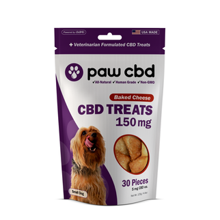 cbdMD CBD DOG TREATS | 150MG | BAKED CHEESE | 30 PIECES