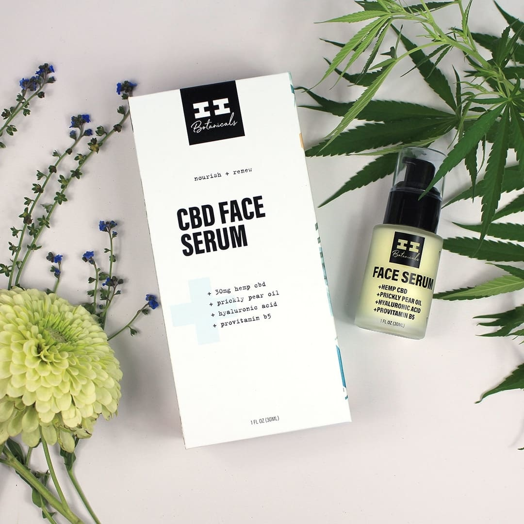 I & I Botanicals CBD FACE SERUM