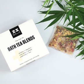 I & I Botanicals CBD BATH TEA BLEND | SET