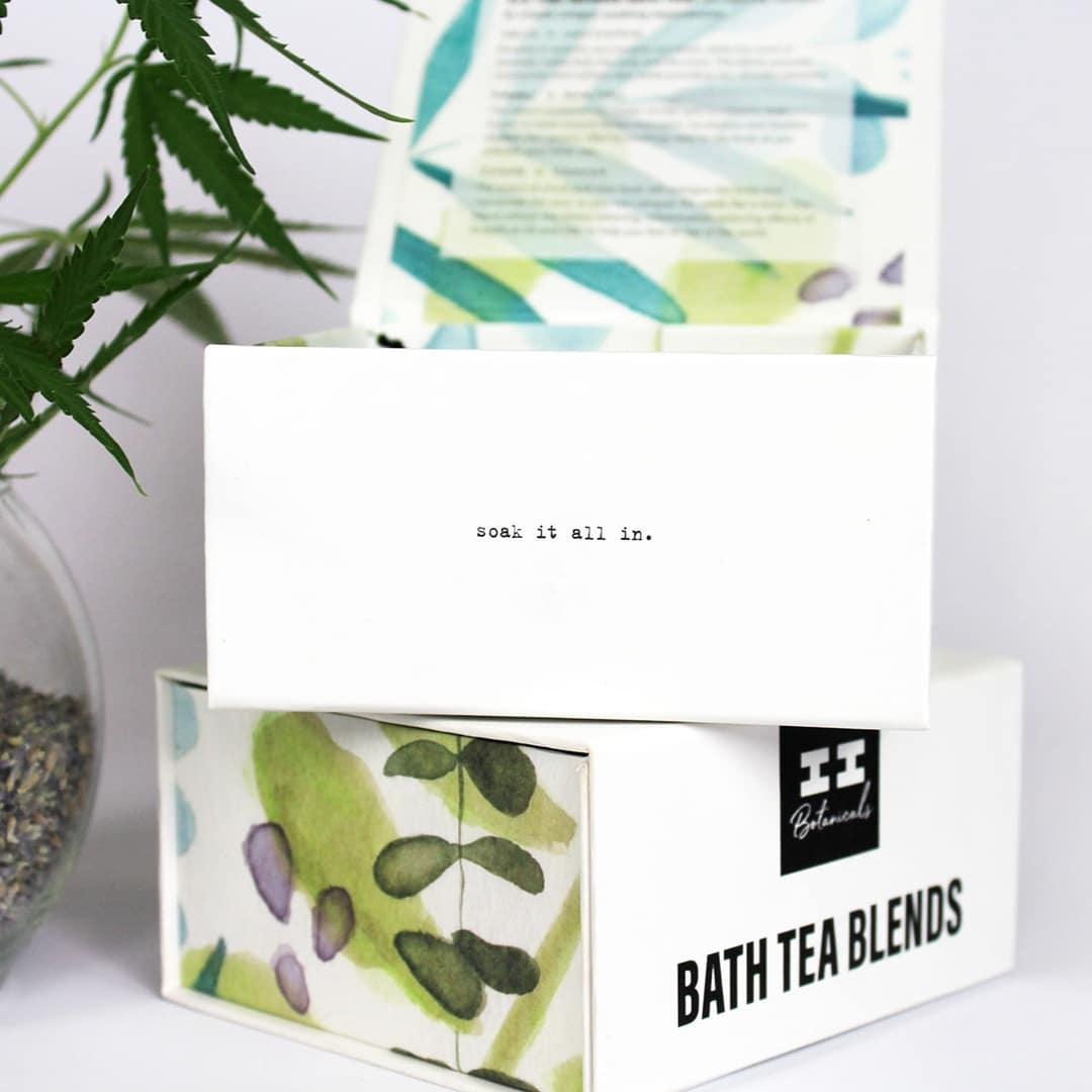 I & I Botanicals CBD BATH TEA BLEND | SET