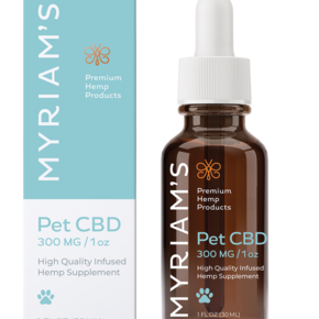 Myriam's Hemp | PET OIL TINCTURE | 300mg | 30ml BOTTLE |