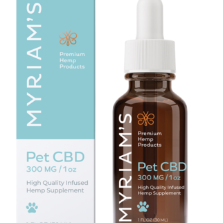 Myriam's Hope PET OIL TINCTURE | FOR PETS (300mg) | 30ml BOTTLE