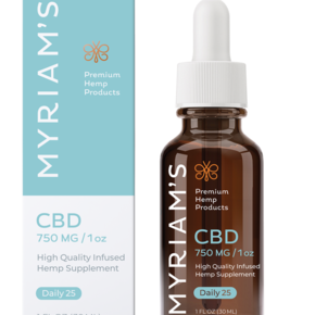 Myriam's Hope CBD OIL TINCTURE | DAILY 25 (750mg) | 30ml BOTTLE