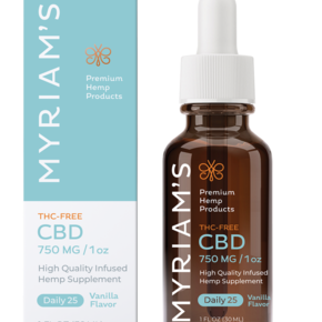 Myriam's Hope CBD OIL TINCTURE | DAILY 25 (750mg) THC FREE | 30ml BOTTLE