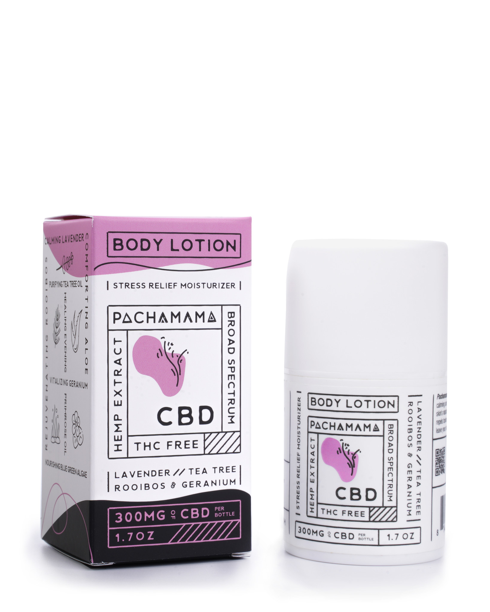 PachaMama CBD PACHAMAMA| BROAD SPECTRUM BODY LOTION | 300mg