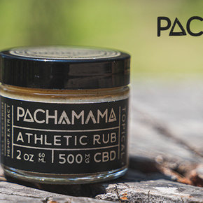 PachaMama CBD PACHAMAMA| BODY BUTTER ATHLETIC RUB | 500mg | 2oz