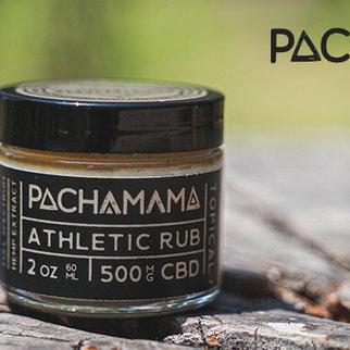 PachaMama CBD PACHAMAMA| BODY BUTTER ATHLETIC RUB | 500mg | 2oz