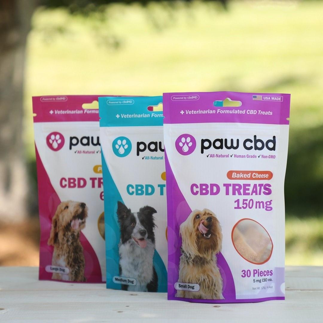 cbdMD | PAW CBD DOG TREATS | 3 LEVELS |