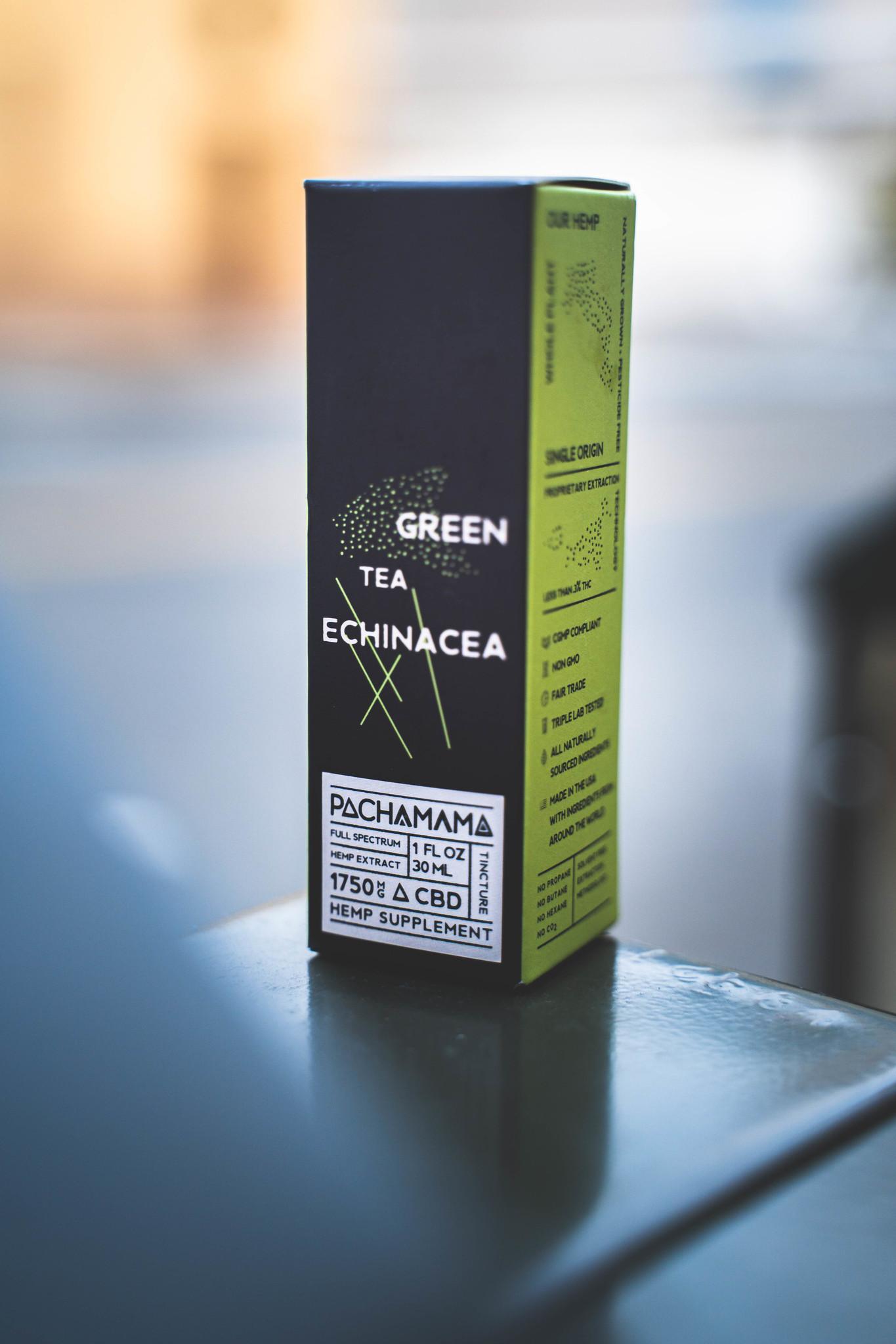 PachaMama CBD | PACHA MAMA CBD | RECOVER | GREEN TEA & ECHINACEA | 2 LEVELS |
