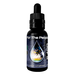 CBD For the People | DARK CBD OIL TINCTURE | 2400mg | 4 FLAVORS |
